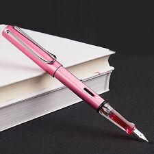 5x 2017 Wing Sung 6359 China Metal Fountain Pen Push Extra Fine EF Nib 0.38mm