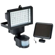 60 LED Solar Power Rechargeable Pir Motion Sensor Security Light Outdoor Garden