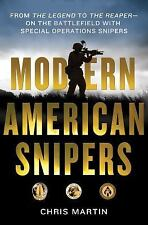MODERN AMERICAN SNIPERS by CHRIS MARTIN with sofrep.com (HARDCOVER) BRAND NEW