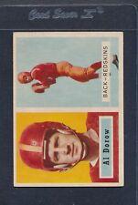 1957 Topps #024 Al Dorow Redskins EX *938