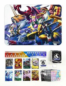 Digimon Card Bandai PB-01 Tamer's Evolution Box SEALED Cards, Sleeves, Playmat