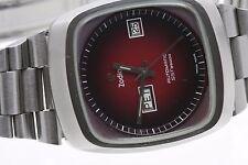 Rechteckige Armbanduhren im Luxus-Stil aus Edelstahl für Erwachsene
