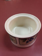 Mikasa Intaglio Garden Harvest Sugar Bowl only, no lid replacement, great CAC29