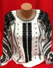 Ukrainian embroidery, embroidered blouse, coton, Any color, XS - 4XL, Ukraine