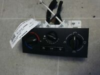 PEUGEOT PARTNER TEPEE 5 DR 2008-2019 HEATER CONTROL PANEL (AIR CON) 9676532480