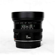 Canon 15mm F2.8 Fisheye, Preowned Excellent, Sharp, Warranty
