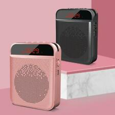 Bluetooth Voice Amplifier Speaker Portable Teacher Tour Guide Loudspeaker W/Clip