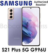 Samsung Galaxy S21+ Plus 5G G996U Violet for AT&T and Cricket Wireless Open Box
