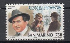 1996 SAN MARINO L. 750 STORIA DELLA CANZONE ARMANDO GILL COME PIOVEVA   MNH**