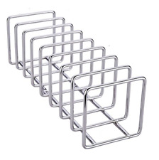 New listing New Pro Chef Kitchen Tools Stainless Steel Pot Lid Organizer Holder Drying Rack