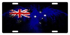 AUSTRALIA Flag Custom License Plate Commonwealth Star Emblem Eagle Version