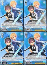 """8x """"Because We Were Together"""" Kirito & Eugeo  Weiss Schwarz Promo - 8 MINT CARDS"""