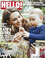 Hello Magazine Kate Middleton Prince Louise And George Princess Charlotte 2019