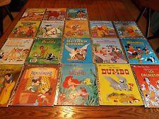Lot of 18 Disney Little Golden Books