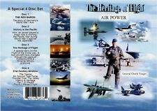4 DVD SET Heritage of Aviation Flight (Air Power) from WWI - WWII - Present