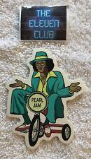 PEARL JAM  Sticker Johnny Guitar Backspacer 2009 promo die cut 2 Side decal OOP