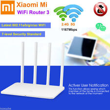 Xiaomi Mi Wireless WLAN LAN Router 128MB 1167Mbps Dual WIFI 2.4/5GHz 4 Antennen