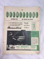 The Gramophone Magazine Music Related Paganini Rachmaninoff September 1956 Old
