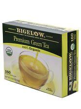 Bigelow Premium Green Tea 100% USDA Organic-160 Individually Wrapped Tea Bags