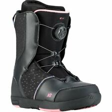 35d87f84d1 2019 K2 Kat Snowboard BOOTS Womens Size 5 Black Pink Youth Girls
