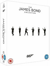 JAMES BOND 007 Complete 23 Movie Collection Dr. No Skyfall 1962-2012 NEW BLU-RAY