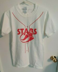 Vintage 2000s Huntsville Stars Men's White Game Giveaway T-Shirt S Small Minors