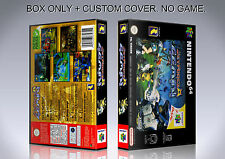 JET FORCE GEMINI. PAL VERSION. Box/Case. Nintendo 64. BOX + COVER. (NO GAME)