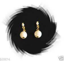"""Replacement Head Vase Pearl Earrings Jewelry for Headvase extend Size 6""""-7"""" Long"""