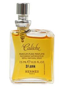 HERMÈS Paris CALÈCHE Pure Parfum Pure Perfume Recharge Refill 7,5 ml