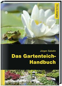 Das Gartenteich-Handbuch von unserem Geschäftsführer Jürgen Saladin