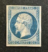 France 1854 *** Napoléon III *** Y&T N° 14A *** Neuf Sans Charnière TBE v/détail