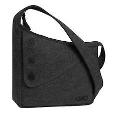 OGIO 114007.438 Brooklyn Dark Grey Felt Tablet ipad Purse Slingbag handbag bag