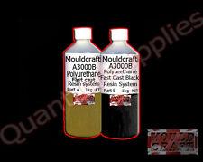 MOULDCRAFT A3000B 2kg BLACK FAST CAST Polyurethane Liquid Plastic casting Resin
