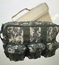 New Computer Messenger Bag with 3 Molle Pouches Code Alpha Digital Camouflage