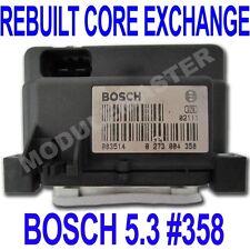 96 97 98 99 00 01 Bosch  5.3 ABS EBCM REBUILT Core Exchange Part 0 273 004 358