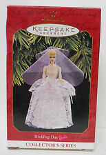 1997 Hallmark Keepsake Ornament Wedding Day Barbie-QXI6812