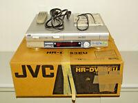 JVC HR-DVS3 miniDV- / S-VHS-Videorecorder in OVP mit FB&BDA, 2 Jahre Garantie