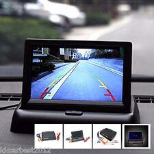 """Aparcamiento retrovisor de reversa para Automóvil 4.3"""" Digital LCD Monitor en Color Pantalla Plegable"""
