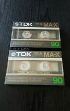 TDK MA-X 90 (×2) : 1986 : MADE IN JAPAN : NEW & SEALED