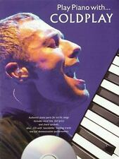 NEW Play Piano with Coldplay (2004, CD / Paperback) Book