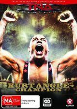 TNA Wrestling Kurt Angle Champion (DVD, 2009, 2-Disc Set) NEW/SEALED [Region 4]