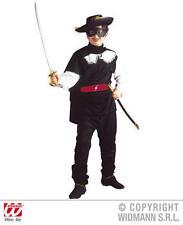 Childrens Bandit Costume Robe Fantaisie Zorro Mousquetaire Outfit 140Cm
