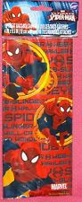 Spiderman,Ultimate,Marvel,Treat/Favor Bags,Wilton,Multi-Color,Reds,1912-5062,Bag