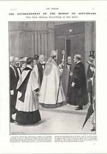 1905 Bishop Of Southwark Talbot Knocking Door Ganges Floating Safe Masonic Chair