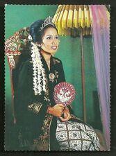 Sundanese Bride BEAUTY Woman Costume Bandung Java Indonesia 2 stamps