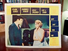 SEXY Carroll BAKER, Barry COE Lobby Card BUT NOT FOR ME (1959) GET SIGNED! orig!