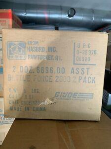 1987 Hasbro GI Joe Battle Force 2000 Sealed Toy Case 24 MOSC MISB Have AFA'd