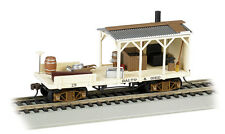 BALTIMORE & OHIO RR OLD-TIME BLACKSMITH MOW CAR BY BACHMANN TRAINS  HO-SCALE