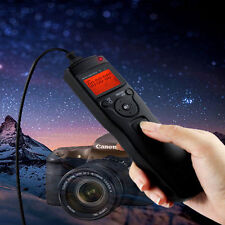 For Canon 5D Mark II III 7D, LCD Timer Shutter Release Remote Control Cable