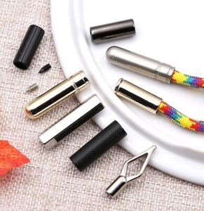 Metal Drawstring Stopper Part String Cord Toggles Ends Crafts For Hoodie Clothes
